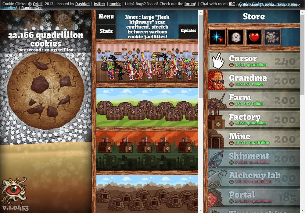 Cookie Clicker Spielen