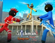 Stickman Police vs Gangsters
