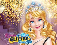 Königin der Glitter Gala