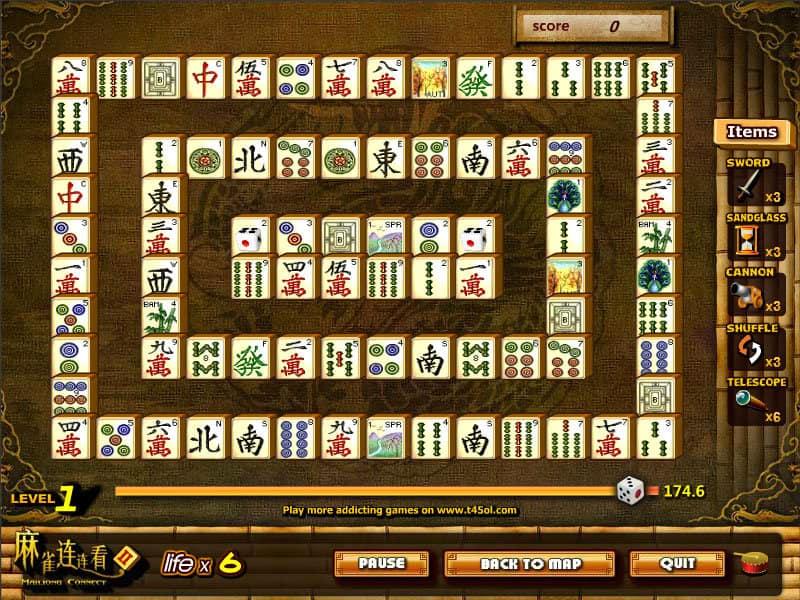 Kostenloses Mahjongg